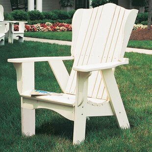Uwharrie Chair Plantation Wood Adirondack Chair