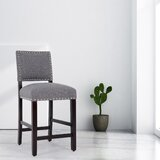 Solita Solid Wood 24 Counter Stool by Winston Porter
