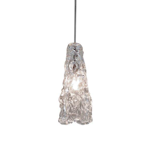 WAC Lighting Ice Quick Connect 1-Light Mini Pendant & Reviews ...