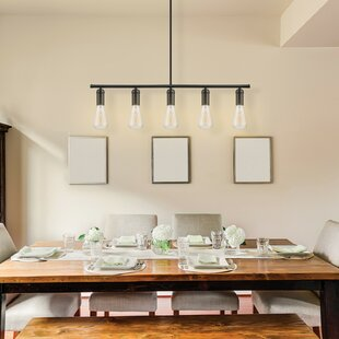 Novogratz Vintage 5 Light Kitchen Island Pendant