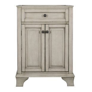 Compare prices Levesque 25.13 Single Bathroom Vanity Base Only By Lark Manor