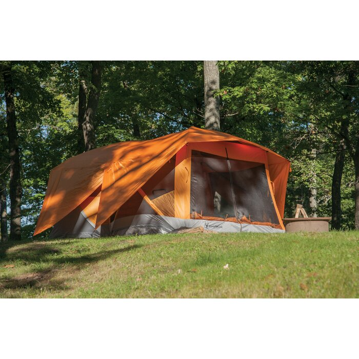 best service b230f 776e3 Pop Up Portable Camping Hub 8 Person Tent