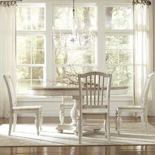 Margate 5 Piece Wood Dining Set Three Posts