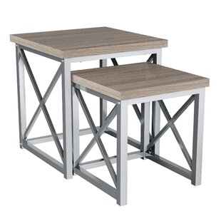 Mongillo 2 Piece Nesting Tables By Gracie Oaks