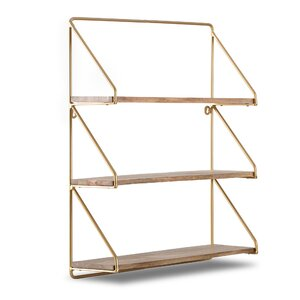 Gold Wall Shelves