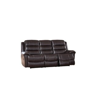 Lorretta Reclining Sofa Red Barrel Studio