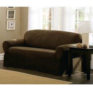 Box Cushion Loveseat Slipcover by Maytex