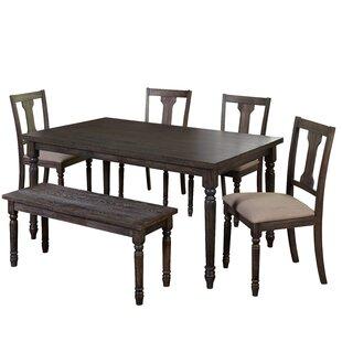 Ines 6 Piece Dining Set
