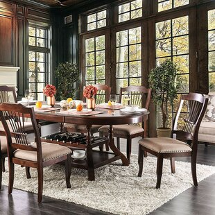 Minehead 7 Piece Drop Leaf Dining Set Fleur De Lis Living