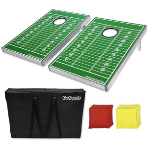 Buy Football Edition CornHole Bean Bag Toss Game Set!