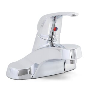 Westlake Centerset Bathroom Faucet without Pop Up ByPremier Faucet