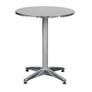 Matte Aluminium Bistro Table By Sol 72 Outdoor