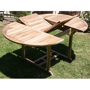 Waterford Extendable Teak Dining Table by IKsunTeak Reviews
