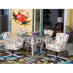 Presley 5 Piece Dining Set Bay Isle Home