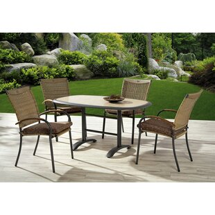 Heathrow 4 Seater Dining Set By Sol 72 Outdoor