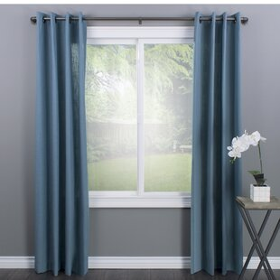 Lovina Wrap Curtain Single Rod by Williston Forge