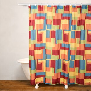 Paint Box Single Shower Curtain
