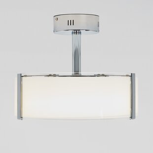 Deckerville 1-Light LED Semi Flush Mount by Latitude Run