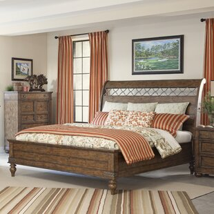 Peatman Sleigh Bed by August Grove