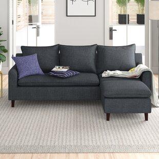Wobnar Reversible Modular Corner Sofa By Zipcode Design
