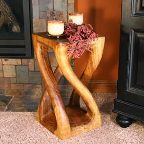 Rebecca Vine Twist End Table