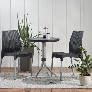 Steveson 3 Piece Resin Bistro Set