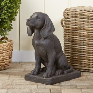 Loyal Dog Garden Statue