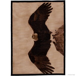 Lacour High Quality Woven Ultra-Soft Eagle Berber Area Rug