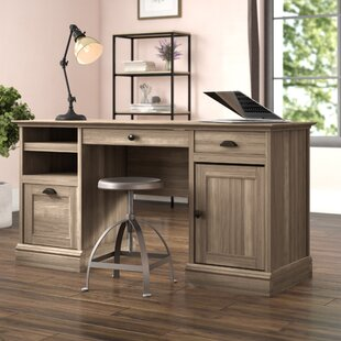 Stackhouse Executive Desk by Beachcrest Home Great price