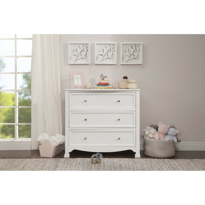 Davinci Kalani 3 Drawer Dresser Reviews Wayfair