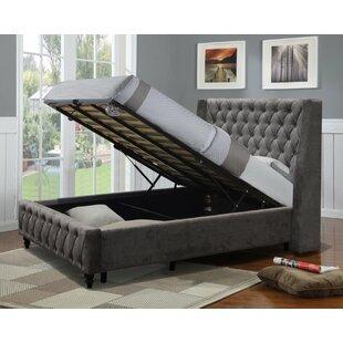 IJlst Kingsize (5') Upholstered Bed Frame By Rosalind Wheeler