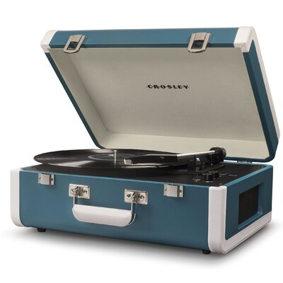 Portfolio Portable Turntable with Bluetooth Crosley Electronics