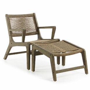 Emrys Footrest Garden Chair By George Oliver