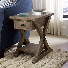 Best Price Samar Chairside Table by 17 Stories Reviews (2019) & Buyer's Guide