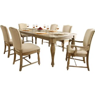 Margate 5 Piece Extendable Solid Wood Dining Set Three Posts