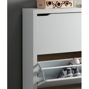 Theresa Shoe Storage Cabinet By 17 Stories