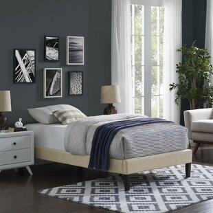 Wrought Studio Eisenbarth Upholstered Platform Bed