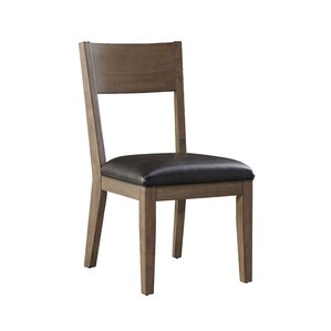 Sierra Genuine Leather Upholstered Dining Chair (Set of 2) by Standard Furniture