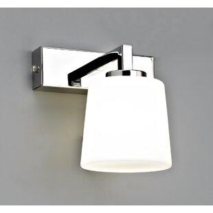Amodio 1-Light LED Bath Sconce by Orren Ellis