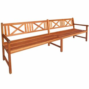 Garden Bench Made Of Solid Wood Image