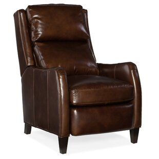 Peyson Leather Power Recliner with Articulating Headrest