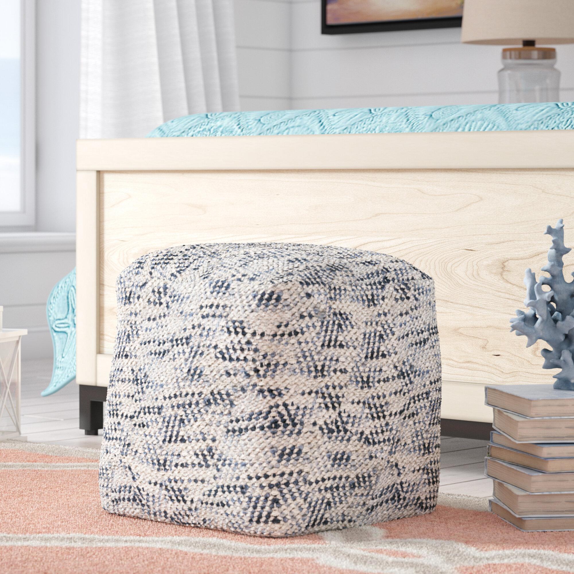 Beachcrest Home Randal Pouf & Reviews | Wayfair