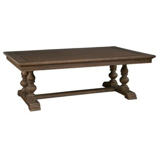 Darby Home Co Legacy Trestle Coffee Table