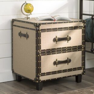 Altona End Table With Storage by Three Posts