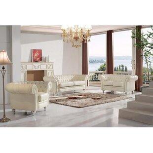 Rosdorf Park Adelina Configurable Living Room Set