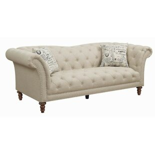 Tab Chesterfield Sofa by Canora Grey