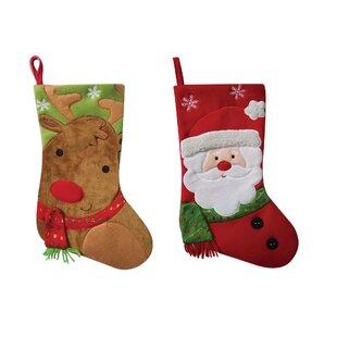 e0e6b488996b3 Set 2 Christmas Stockings   Tree Skirts