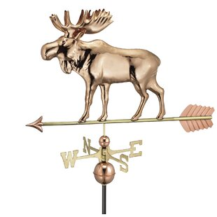 Moose Weathervane By Good Directions