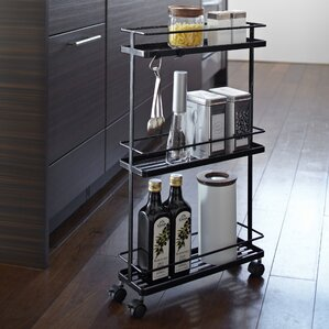 Tower Rolling Kitchen Storage Cart by Yamazaki Home