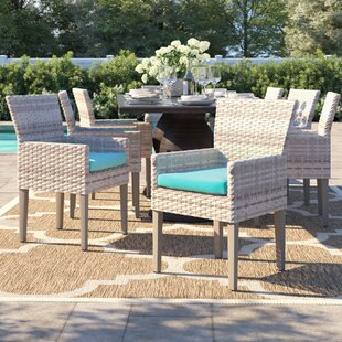 Falmouth Patio Dining Chair with Cushion (Set of 8)